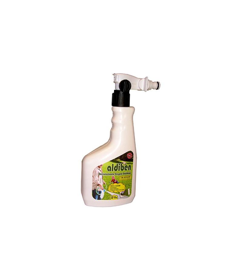 Desinfectante para césped artificial Albiden en spray 750 ml.- Eficacia Total